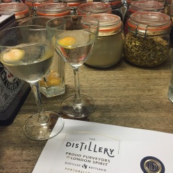 Martinis and label making